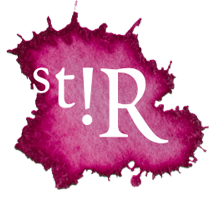 stir logo roze
