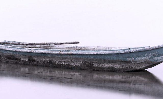 bootje op het water